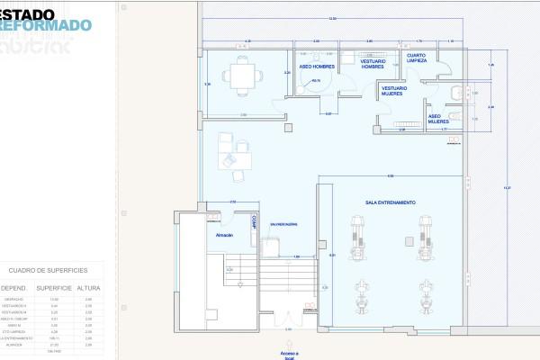 Proyectos estudio abstrac for Gimnasio alcorcon
